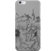 Hummingbirds feeding iPhone Case/Skin