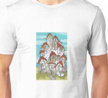 Medievil town Unisex T-Shirt