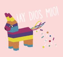 ¡Ay Dios Mio! Piñata Problems - Worried Burro Pinata has Candy Accident One Piece - Long Sleeve