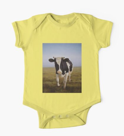 Cute Dutch Cow One Piece - Short Sleeve