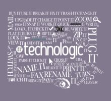 Daft Punk - Technologic Lyrics Kids Tee