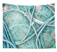 Loops of Net and Rope Wall Tapestry