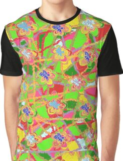 Flower Countryside Counterpane Graphic T-Shirt