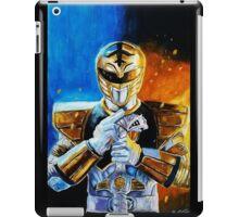 White Ranger iPad Case/Skin