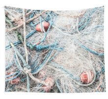 Piled Rope and Net Wall Tapestry