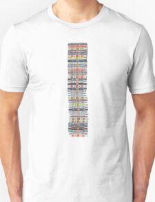 Analog Tape Cassettes Unisex T-Shirt