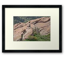 Red Rocks Park Colorado Landscape Framed Print