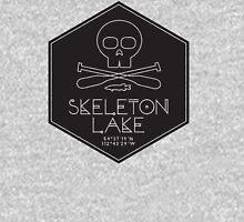 Skeleton Lake (black print) Sweatshirt