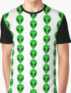 Happy Alien Graphic T-Shirt
