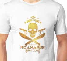 Black Lagoon ROANAPUR GUN CLUB white Unisex T-Shirt