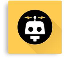 Robot Icon Canvas Print