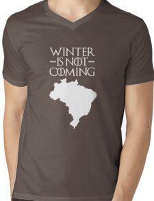 Winter is not Coming - Brazil Mens V-Neck T-Shirt