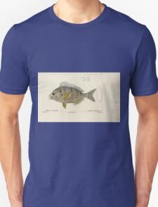 Natural History Fish Histoire naturelle des poissons Georges V1 V2 Cuvier 1849 103 T-Shirt