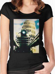 Dalek Selfie Women's Fitted Scoop T-Shirt
