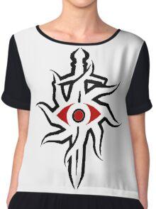 inquisition (alt. colours) Chiffon Top