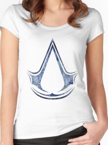 °GEEK° Assassin's Creed Logo Women's Fitted Scoop T-Shirt