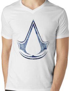 °GEEK° Assassin's Creed Logo Mens V-Neck T-Shirt
