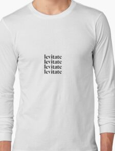 """levitate"" Kendrick Lamar untitled unmastered. Long Sleeve T-Shirt"