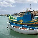 Fishing Boats in Marsaxlokk  by Kasia-D