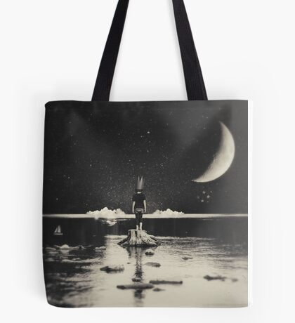 The Day Has Eyes, The Night Has Ears Tote Bag