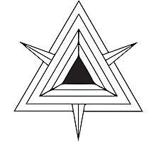 Geometric Triangle 3 Photographic Print