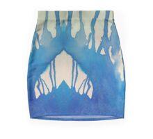 Watercolor Improvisation Mini Skirt