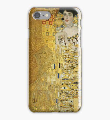 Gustav Klimt - Adele .  Golden Gustav Klimt  iPhone Case/Skin