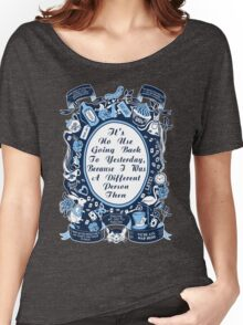 Alice In Wonderland. Alice Through The Looking Glass. Women's Relaxed Fit T-Shirt