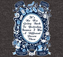 Alice In Wonderland. Alice Through The Looking Glass. Unisex T-Shirt