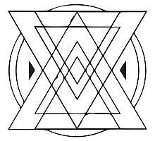 Geometric Triangles 4 Photographic Print