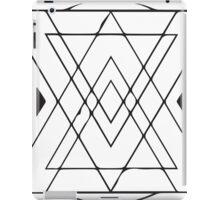 Geometric Triangles 4 iPad Case/Skin