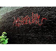 Amsterdam Graffiti Photographic Print