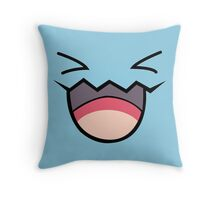 wobbufett pokemon Throw Pillow