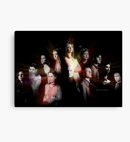 Buffy - Characters Canvas Print
