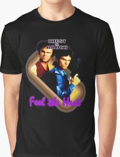 Brock and Chest- Feel the Heat Graphic T-Shirt