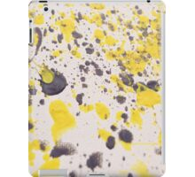 Yellow Grey Classic iPad Case/Skin
