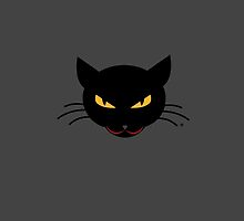 Evil Kitty by _ VectorInk