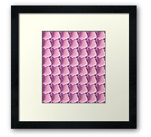 Pink Scales Framed Print