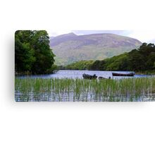 Killarney Boats Canvas Print