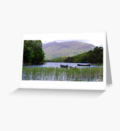 Killarney Boats Greeting Card