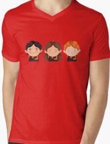 Harry Potter Trio: Harry, Hermione & Ron Mens V-Neck T-Shirt