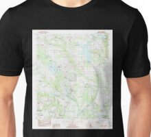 USGS TOPO Map Alabama AL Elmore 303749 1987 24000 Unisex T-Shirt