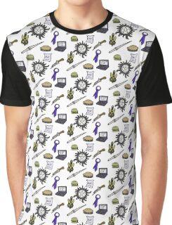 Supernatural Symbols Graphic T-Shirt