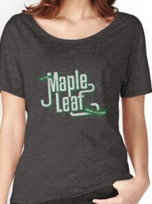 Maple Leaf Seattle - Reside with Pride Women's Relaxed Fit T-Shirt