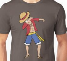 Luffy Dabbing (one piece) Unisex T-Shirt