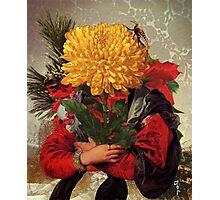 Portrait of Susanna Fourment as a Flower Arrangement Photographic Print