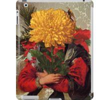 Portrait of Susanna Fourment as a Flower Arrangement iPad Case/Skin