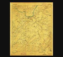 USGS TOPO Map Alabama AL Gadsden 305842 1888 125000 Unisex T-Shirt
