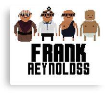 Pixel Franks Canvas Print