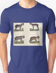 Naturgeschichte in Bildern mit erläuterndem Text E Strack 1820 Lief 1 Mammals 008 T-Shirt